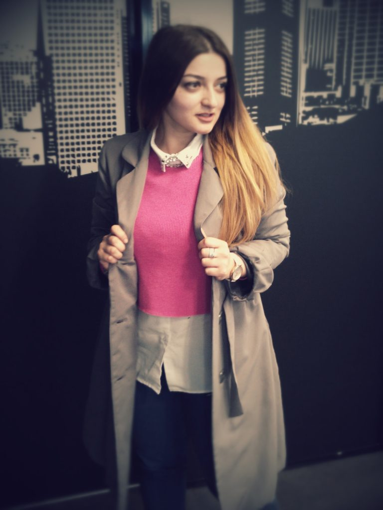 PINK MOOD WORKING GIRL