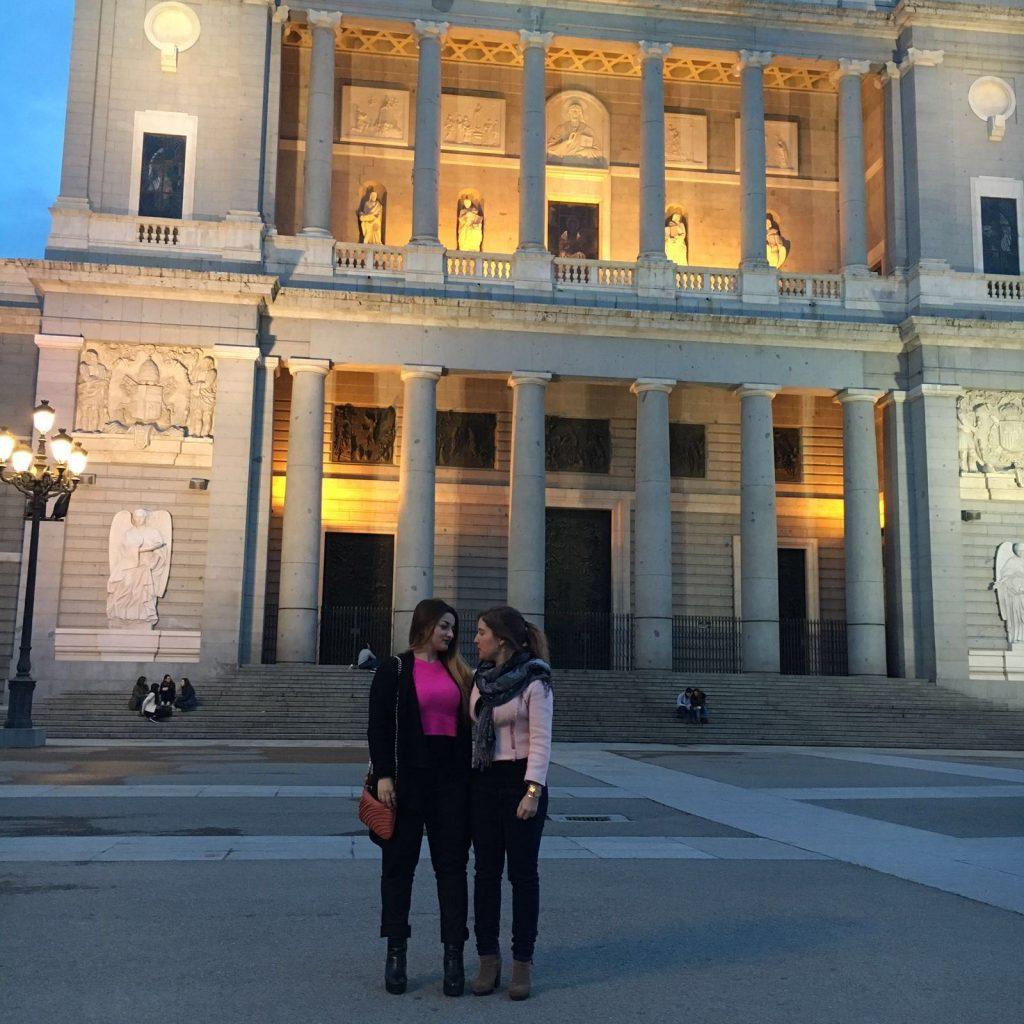 Royal palace of Madrid