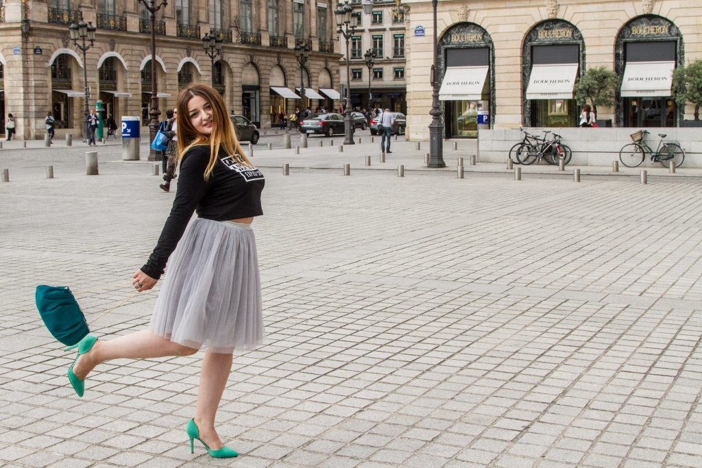 HOW TO WEAR TUTU SKIRT IN AUTUMN