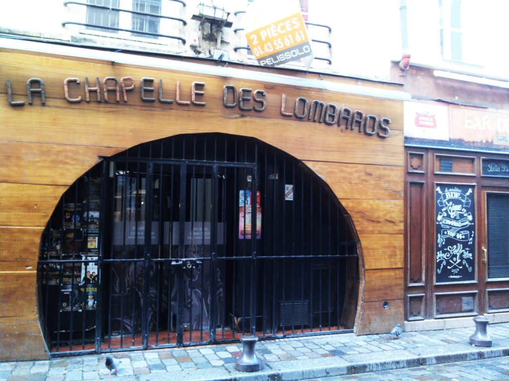 LA CHAPELLE DES LOMBARDS, PARIS