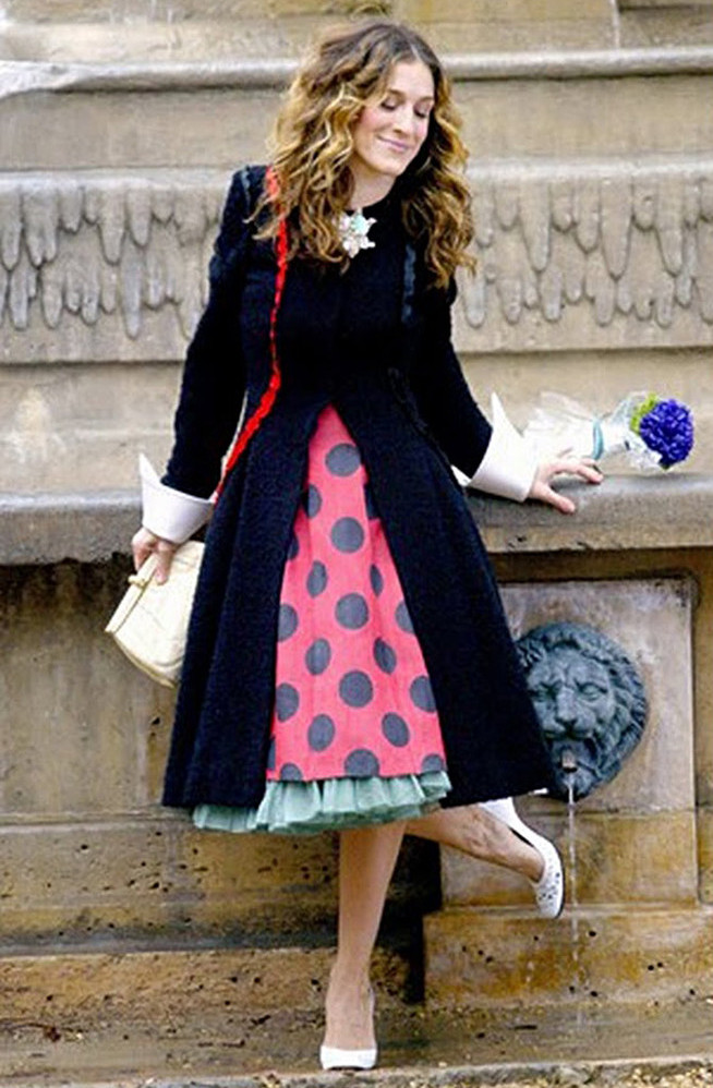 Another Outfit From Her Stay In Paris Is The Tutu Long Green Skirt Which Had Been Trendy For Of Seasons Now